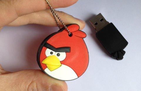 Llaveros-USB de los AngryBirds