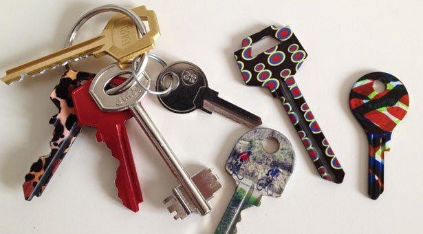 Gran variedad de llaves